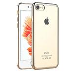 Чехол Azulo Brill case для Apple iPhone 7 (золотистый, пластиковый)