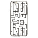 Чехол Azulo Fancy case для Apple iPhone 7 (Labyrinth, гелевый)