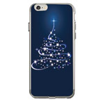 Чехол Azulo Fancy case для Apple iPhone 7 (Christmas Tree, гелевый)