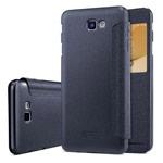 Чехол Nillkin Sparkle Leather Case для Samsung Galaxy J5 Prime (темно-серый, винилискожа)