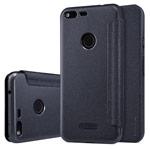 Чехол Nillkin Sparkle Leather Case для Google Pixel XL (темно-серый, винилискожа)