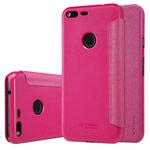 Чехол Nillkin Sparkle Leather Case для Google Pixel XL (розовый, винилискожа)