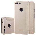 Чехол Nillkin Sparkle Leather Case для Google Pixel XL (золотистый, винилискожа)