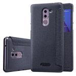 Чехол Nillkin Sparkle Leather Case для Huawei Honor 6X (темно-серый, винилискожа)