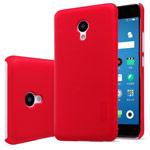 Чехол Nillkin Hard case для Meizu M5 (красный, пластиковый)