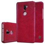 Чехол Nillkin Qin leather case для Xiaomi Mi 5s plus (красный, кожаный)