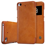 Чехол Nillkin Qin leather case для Xiaomi Mi 5s (коричневый, кожаный)
