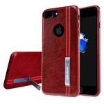 Чехол Nillkin Phenom Case для Apple iPhone 7 plus (красный, кожаный)