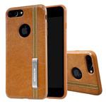 Чехол Nillkin Phenom Case для Apple iPhone 7 plus (коричневый, кожаный)