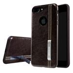 Чехол Nillkin Phenom Case для Apple iPhone 7 plus (темно-коричневый, кожаный)