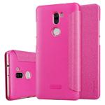 Чехол Nillkin Sparkle Leather Case для Xiaomi Mi 5s plus (розовый, винилискожа)