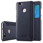 Чехол Nillkin Sparkle Leather Case для Huawei Nova (темно-серый, винилискожа)