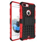 Чехол Yotrix Shockproof case для Apple iPhone 7 plus (красный, пластиковый)