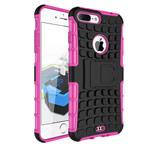 Чехол Yotrix Shockproof case для Apple iPhone 7 plus (розовый, пластиковый)