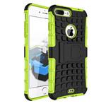 Чехол Yotrix Shockproof case для Apple iPhone 7 plus (зеленый, пластиковый)