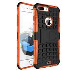 Чехол Yotrix Shockproof case для Apple iPhone 7 plus (оранжевый, пластиковый)