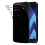 Чехол Yotrix UltrathinCase для Samsung Galaxy A3 2017 (серый, гелевый)