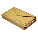 Чехол Samdi Postcard Leather Case для Apple iPhone 4/4S (бежевый, кожанный)