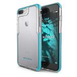 Чехол X-doria Impact Pro для Apple iPhone 7 plus (голубой, пластиковый)