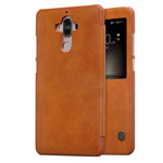 Чехол Nillkin Qin leather case для Huawei Mate 9 (коричневый, кожаный)