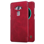 Чехол Nillkin Qin leather case для Asus Zenfone 3 Deluxe ZS570KL (красный, кожаный)