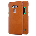Чехол Nillkin Qin leather case для Asus Zenfone 3 Deluxe ZS570KL (коричневый, кожаный)