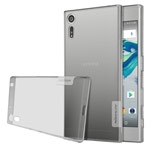 Чехол Nillkin Nature case для Sony Xperia XZ (серый, гелевый)