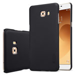 Чехол Nillkin Hard case для Samsung Galaxy C9 pro (черный, пластиковый)