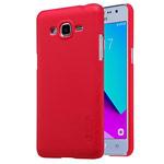 Чехол Nillkin Hard case для Samsung Galaxy J2 Prime (красный, пластиковый)