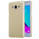 Чехол Nillkin Hard case для Samsung Galaxy J2 Prime (золотистый, пластиковый)