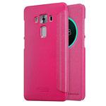 Чехол Nillkin Sparkle Leather Case для Asus Zenfone 3 Deluxe ZS570KL (розовый, винилискожа)