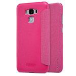 Чехол Nillkin Sparkle Leather Case для Asus Zenfone 3 Max ZC553KL (розовый, винилискожа)