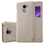 Чехол Nillkin Sparkle Leather Case для Xiaomi Redmi 4 (золотистый, винилискожа)