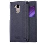 Чехол Nillkin Sparkle Leather Case для Xiaomi Redmi 4 prime (темно-серый, винилискожа)