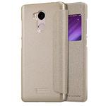 Чехол Nillkin Sparkle Leather Case для Xiaomi Redmi 4 prime (золотистый, винилискожа)