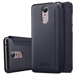 Чехол Nillkin Sparkle Leather Case для Huawei Enjoy 6 (темно-серый, винилискожа)