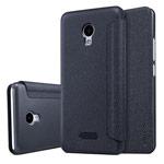 Чехол Nillkin Sparkle Leather Case для Meizu M5 (темно-серый, винилискожа)