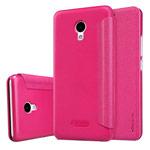 Чехол Nillkin Sparkle Leather Case для Meizu M5 (розовый, винилискожа)