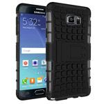 Чехол Yotrix Shockproof case для Samsung Galaxy Note 5 N920 (черный, пластиковый)