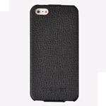 Чехол Discovery Buy case для Apple iPhone 5 (черный, кожанный)