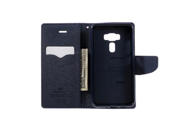 Чехол Mercury Goospery Fancy Diary Case для Asus Zenfone 3 ZE552KL (фиолетовый, винилискожа)