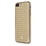 Чехол Occa Spade Collection для Apple iPhone 7 plus (золотистый, кожаный)