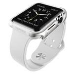 Чехол X-doria Defense Edge для Apple Watch Series 2 (38 мм, серебристый, маталлический)