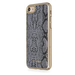 Чехол Occa Tory Collection для Apple iPhone 7 (серый, кожаный)