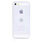 Чехол Dexim Mi & Fashion Case для Apple iPhone 5 (белый, пластиковый)