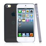 Чехол Dexim AOU Fashion для Apple iPhone 5 (черный, гелевый)