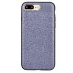 Чехол Devia Racy case для Apple iPhone 7 plus (серебристый, винилискожа)