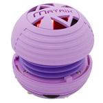 Портативная колонка Matrix Audio NRG Portable dynamic (фиолетовая, моно)