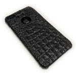 Чехол X-Fitted Faux Crocodile для Apple iPhone 7 plus (черный, кожаный)