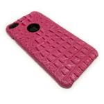 Чехол X-Fitted Faux Crocodile для Apple iPhone 7 plus (розовый, кожаный)